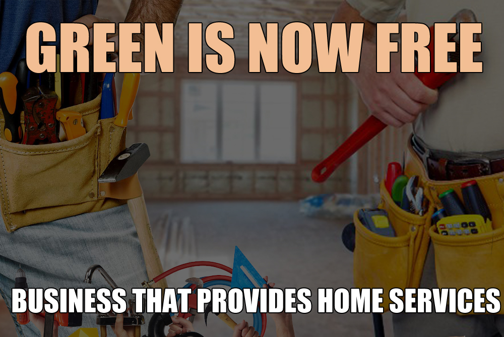 Gree is now free - business that provides home services