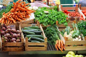 Farmer's Market in Irvine California